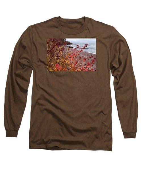 Superior November Color Long Sleeve T-Shirt by Sandra Updyke