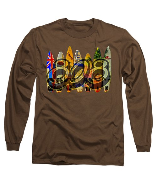 Surfin' 808 Long Sleeve T-Shirt