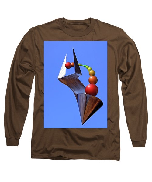 Long Sleeve T-Shirt featuring the photograph Surreal Rainbow by Christopher McKenzie