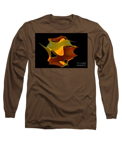 Surreal Shape Long Sleeve T-Shirt