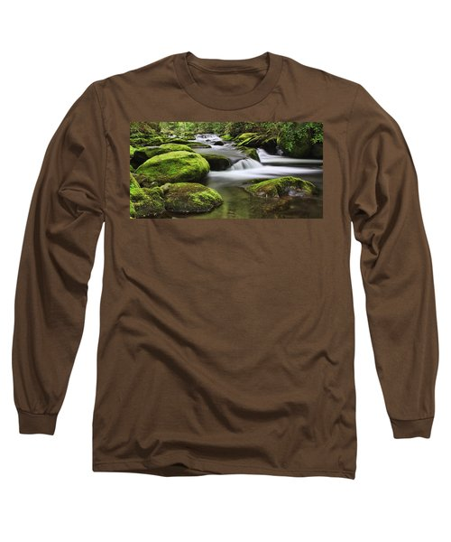 Surrounded In Green Long Sleeve T-Shirt