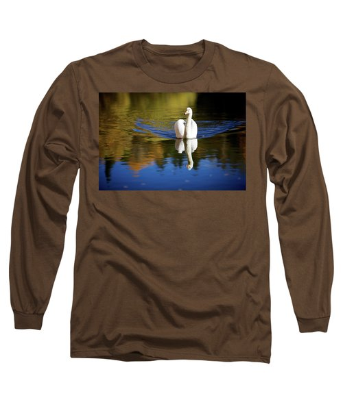 Swan In Color Long Sleeve T-Shirt