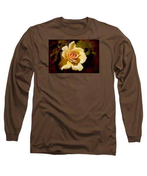 Sweet Rose Long Sleeve T-Shirt by Milena Ilieva