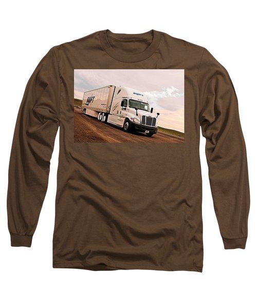 Swift Digital Art Painting #2b Long Sleeve T-Shirt