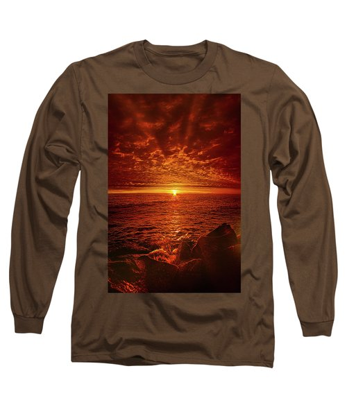 Long Sleeve T-Shirt featuring the photograph Swiftly Flow The Days by Phil Koch