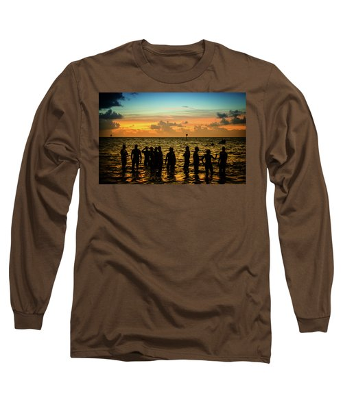 Swimmers Sunrise Long Sleeve T-Shirt