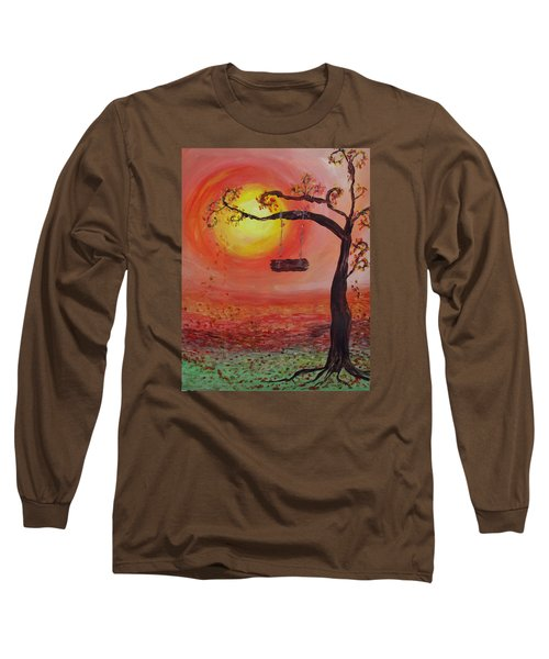 Swing Into Autumn Long Sleeve T-Shirt