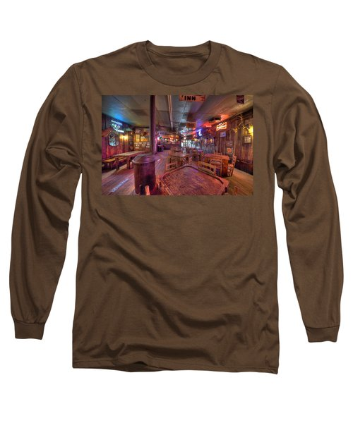 Swinging Doors At The Dixie Chicken Long Sleeve T-Shirt