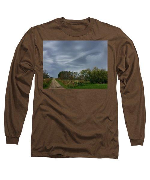 Swirel Long Sleeve T-Shirt