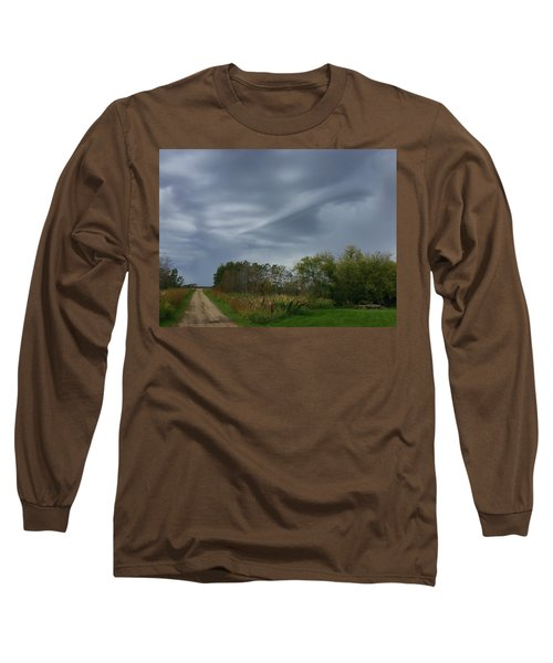 Swirel Long Sleeve T-Shirt