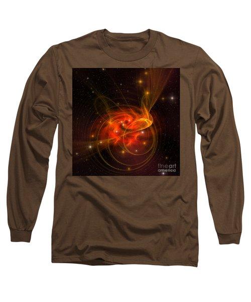 Swirling Galaxy Long Sleeve T-Shirt