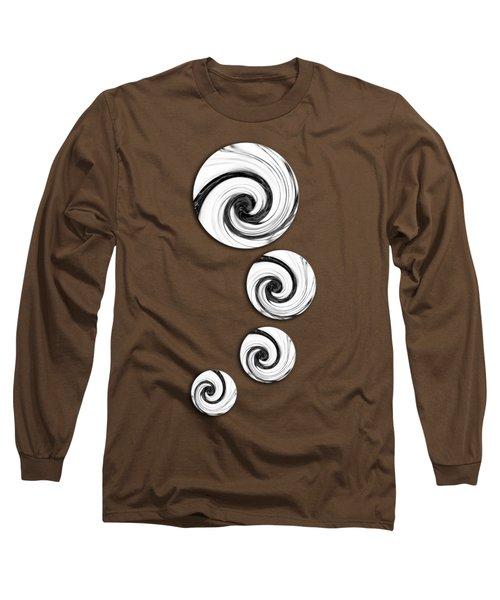Swirling Round Long Sleeve T-Shirt
