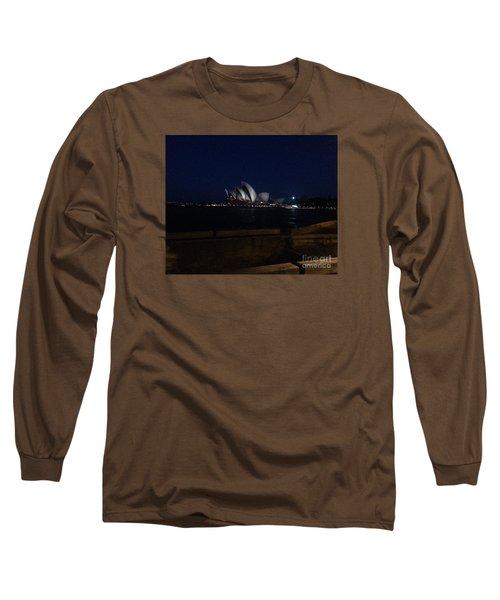 Sydney Opera House At Night Long Sleeve T-Shirt