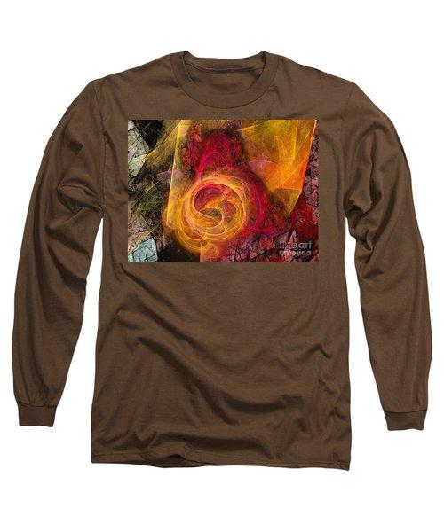 Symbiosis Abstract Art Long Sleeve T-Shirt