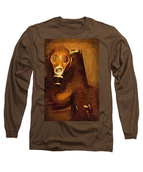 Long Sleeve T-Shirt featuring the painting Tainted by Holly Ethan