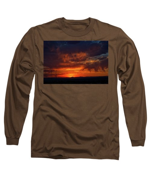 Taos Virga Sunset Long Sleeve T-Shirt
