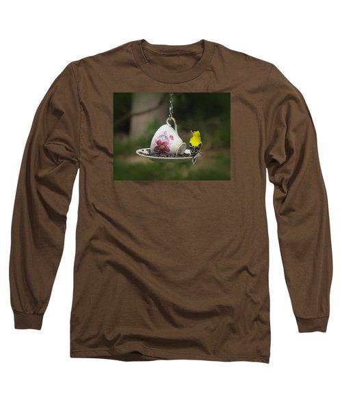 Teacup Finch Long Sleeve T-Shirt