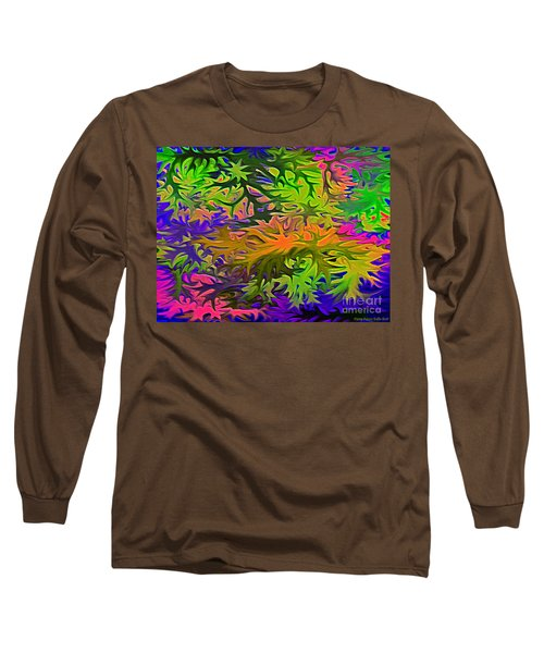 Technicolor Leaves Long Sleeve T-Shirt