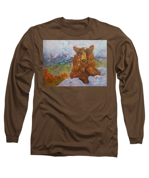 Teddy Wakes Up In The Most Desireable City In The Nation Long Sleeve T-Shirt