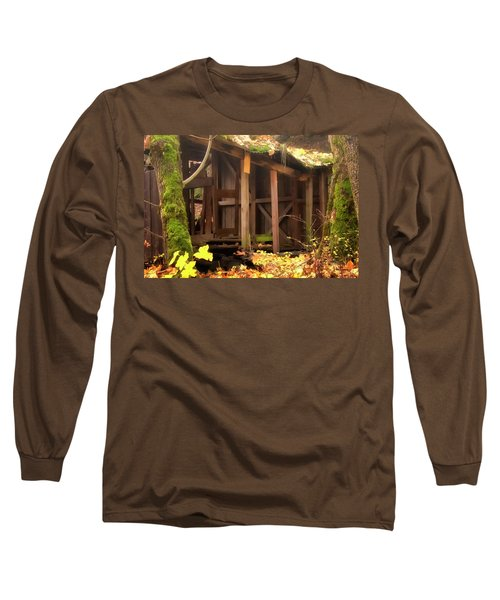 Long Sleeve T-Shirt featuring the photograph Temporary Shelter by Albert Seger