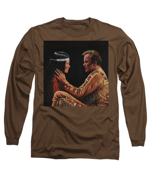 Tenderness In His Touch Long Sleeve T-Shirt