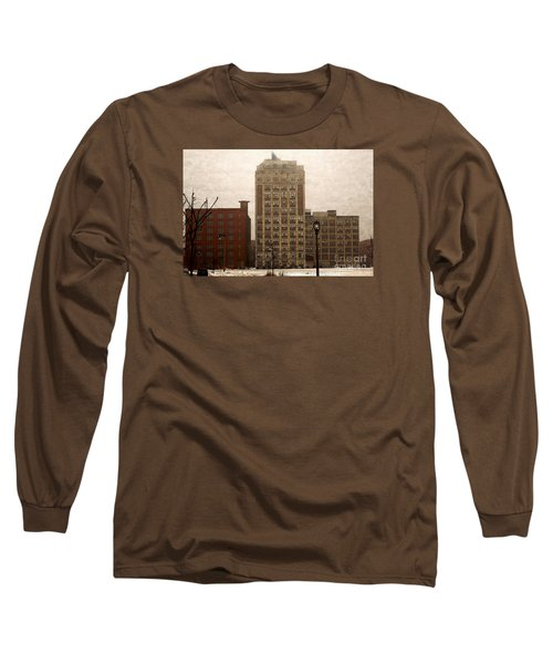 Long Sleeve T-Shirt featuring the digital art Teweles Teweles by David Blank