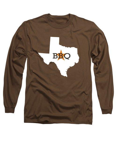 Texas Bbq Long Sleeve T-Shirt by Nancy Ingersoll