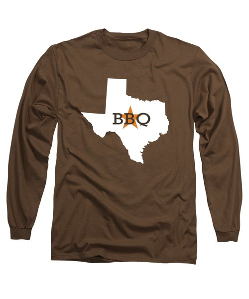 Texas Bbq Long Sleeve T-Shirt