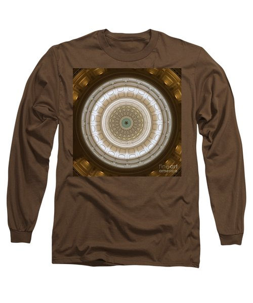 Long Sleeve T-Shirt featuring the photograph Texas Capital by Robert Meanor