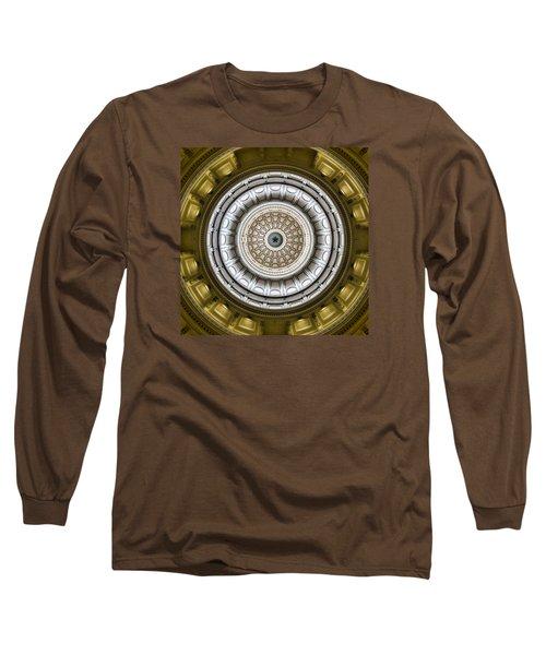 Texas Capitol Dome Long Sleeve T-Shirt