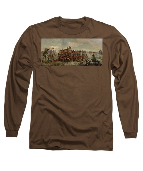 The 28th Regiment At Quatre Bras Long Sleeve T-Shirt