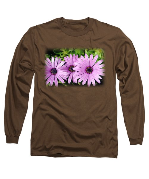 The African Daisy T-shirt 3 Long Sleeve T-Shirt by Isam Awad