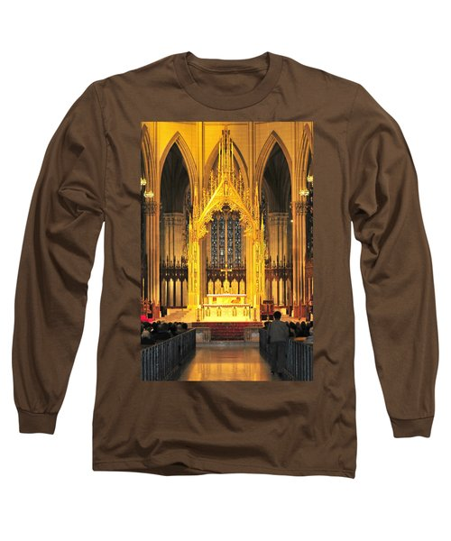 Long Sleeve T-Shirt featuring the photograph The Alter by Diana Angstadt