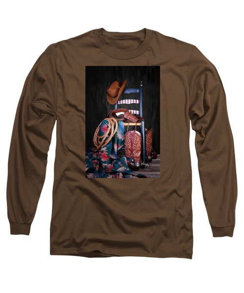 The American West Long Sleeve T-Shirt by Tom Mc Nemar