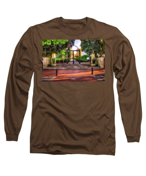 The Arch 4 University Of Georgia Arch Art Long Sleeve T-Shirt
