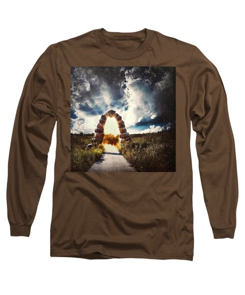 The Arch On The Edge Of Forever Long Sleeve T-Shirt