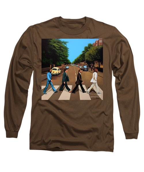 The Beatles Abbey Road Long Sleeve T-Shirt
