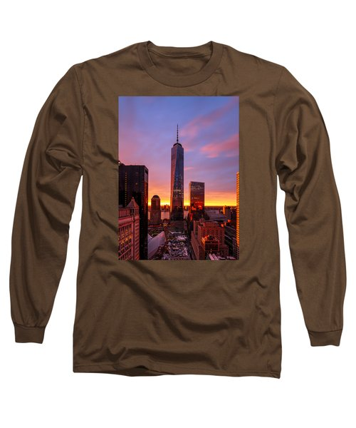Long Sleeve T-Shirt featuring the photograph The Beauty Of God by Anthony Fields