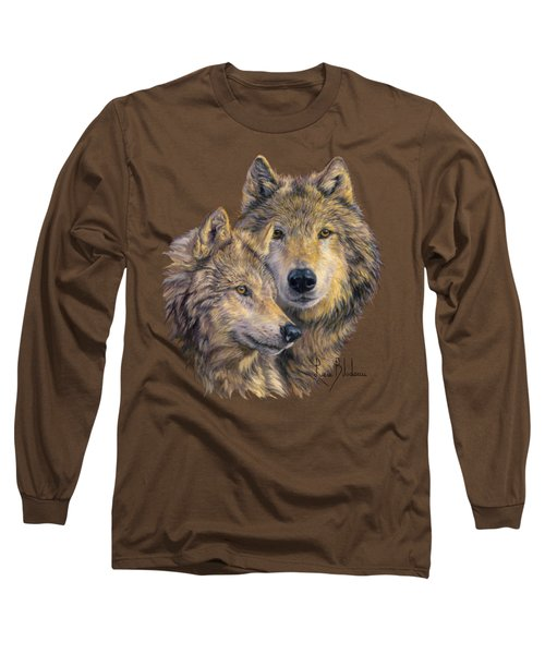 The Bond Long Sleeve T-Shirt by Lucie Bilodeau