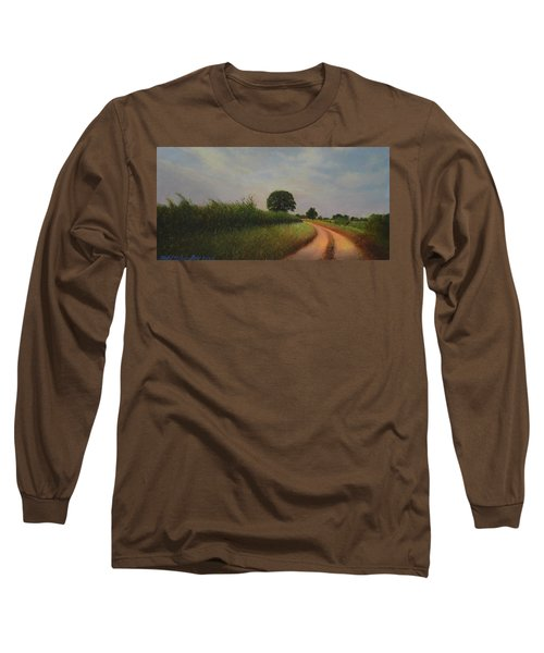 The Brighter Road Ahead Long Sleeve T-Shirt by Blue Sky