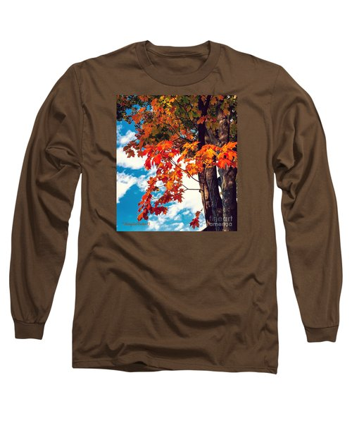 The  Changing  Long Sleeve T-Shirt by MaryLee Parker