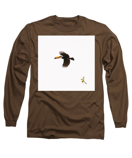 Long Sleeve T-Shirt featuring the photograph The Chase by Alex Lapidus