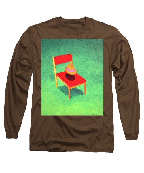 The Chat Long Sleeve T-Shirt by Thomas Blood