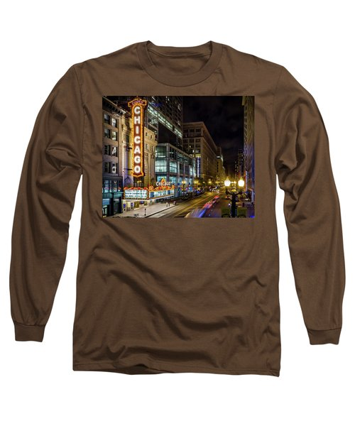 Illinois - The Chicago Theater Long Sleeve T-Shirt