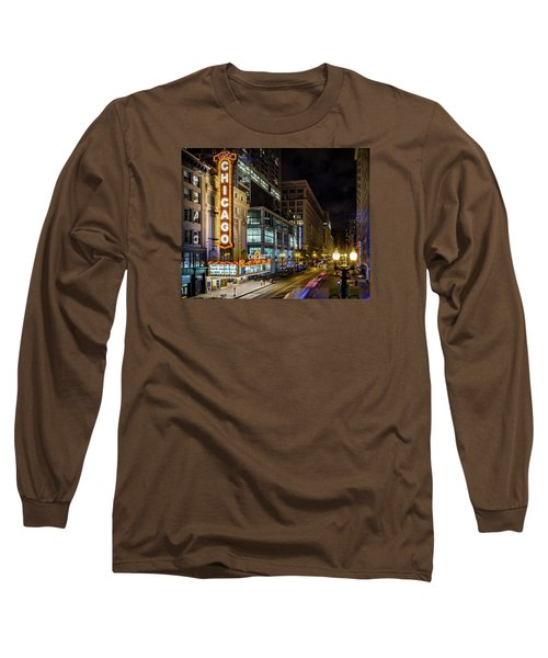 The Chicago Theatre Long Sleeve T-Shirt