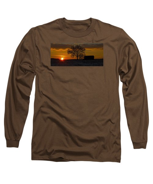 Long Sleeve T-Shirt featuring the photograph The Circle Of Life by Skip Tribby