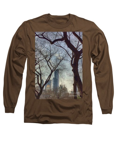 The City Through The Trees Long Sleeve T-Shirt