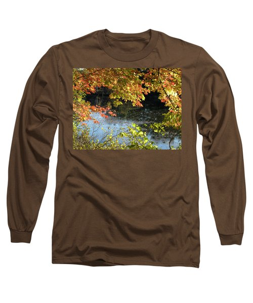 The Colors Of Fall Long Sleeve T-Shirt by Tara Lynn