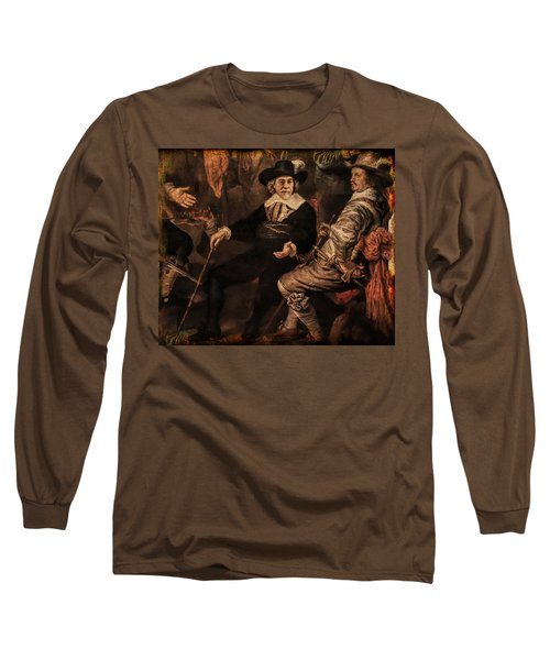 The Court Debate Long Sleeve T-Shirt