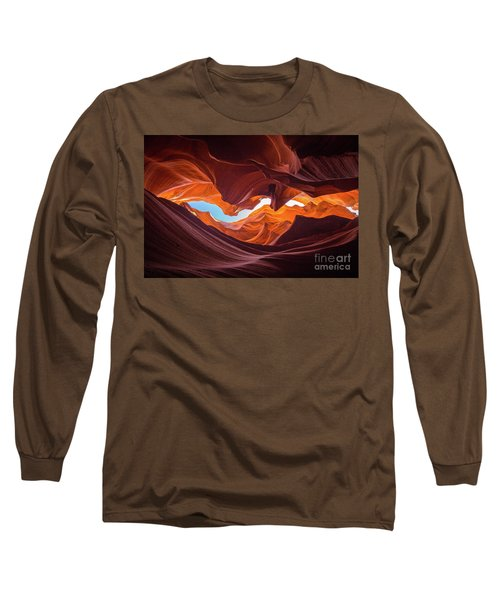 The Crack Long Sleeve T-Shirt by JR Photography